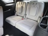 2019 Ford Explorer Limited 4WD Rear Seat