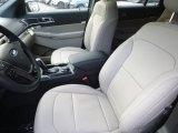 2019 Ford Explorer Limited 4WD Medium Stone Interior