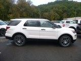 2019 White Platinum Ford Explorer Sport 4WD #130016912