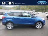 2019 Lightning Blue Ford Escape Titanium 4WD #130016911
