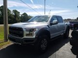 2018 Ingot Silver Ford F150 SVT Raptor SuperCrew 4x4 #130025812