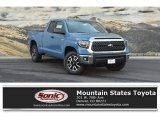 2019 Cavalry Blue Toyota Tundra TRD Off Road Double Cab 4x4 #130025561