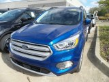2019 Lightning Blue Ford Escape SEL #130048779