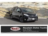 2019 Midnight Black Metallic Toyota Sienna XLE #130048491