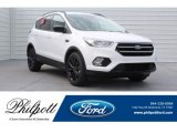 2018 Oxford White Ford Escape SE #130069896