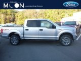 2018 Ingot Silver Ford F150 XL SuperCrew 4x4 #130069889