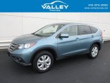 2014 Mountain Air Metallic Honda CR-V EX AWD #130091603
