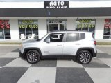 2017 Glacier Metallic Jeep Renegade Latitude #130091864