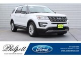 2017 Oxford White Ford Explorer XLT #130091847