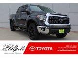 2019 Midnight Black Metallic Toyota Tundra TSS Off Road CrewMax #130091843