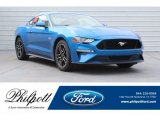 2019 Velocity Blue Ford Mustang GT Fastback #130091840