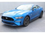 2019 Ford Mustang Velocity Blue
