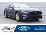 2019 Kona Blue Ford Mustang EcoBoost Fastback #130091839