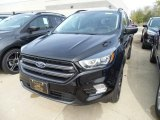 2019 Agate Black Ford Escape SEL 4WD #130091938