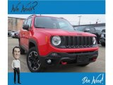 2017 Colorado Red Jeep Renegade Trailhawk 4x4 #130091613