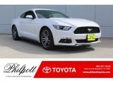 2017 Oxford White Ford Mustang EcoBoost Premium Coupe #130139112