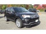 2019 Agate Black Ford Explorer Limited 4WD #130139156