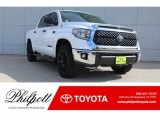 2019 Super White Toyota Tundra TSS Off Road CrewMax #130139110