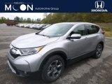 2018 Lunar Silver Metallic Honda CR-V EX AWD #130154653
