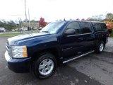 2009 Imperial Blue Metallic Chevrolet Silverado 1500 LT Crew Cab 4x4 #130154626