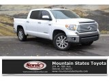 2014 Super White Toyota Tundra Limited Crewmax 4x4 #130178616