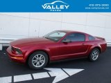 2007 Redfire Metallic Ford Mustang V6 Premium Coupe #130178571