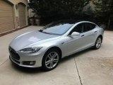 2013 Tesla Model S  Front 3/4 View