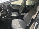 2013 Tesla Model S  Front Seat