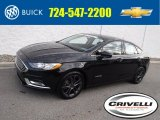 2018 Shadow Black Ford Fusion Hybrid SE #130203233
