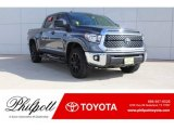 2019 Magnetic Gray Metallic Toyota Tundra TSS Off Road CrewMax 4x4 #130203186