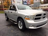 2012 Bright Silver Metallic Dodge Ram 1500 ST Quad Cab 4x4 #130203260
