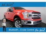 2018 Race Red Ford F150 XLT SuperCrew 4x4 #130203226