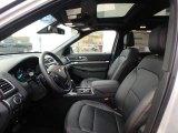 2019 Ford Explorer Sport 4WD Medium Black Interior
