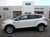 2019 White Platinum Ford Escape SE 4WD #130203291