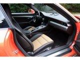 2018 Porsche 911 Turbo S Coupe Front Seat
