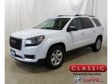 2016 Summit White GMC Acadia SLE AWD #130203238