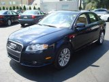 2008 Deep Sea Blue Pearl Effect Audi A4 2.0T Special Edition quattro Sedan #13012765