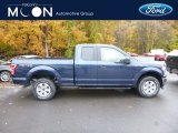 2018 Blue Jeans Ford F150 XLT SuperCab 4x4 #130224873