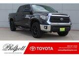 2019 Midnight Black Metallic Toyota Tundra TSS Off Road CrewMax #130224900
