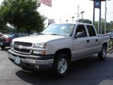 2005 Silver Birch Metallic Chevrolet Silverado 1500 LS Crew Cab 4x4 #12996526