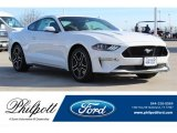 2018 Oxford White Ford Mustang GT Premium Fastback #130224888