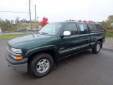 2002 Forest Green Metallic Chevrolet Silverado 1500 LS Extended Cab 4x4 #130224837