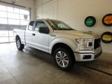 2018 Ingot Silver Ford F150 XL SuperCab 4x4 #130224797
