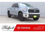 2019 Silver Sky Metallic Toyota Tundra TSS Off Road CrewMax #130242299