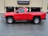 2014 Victory Red Chevrolet Silverado 1500 WT Regular Cab 4x4 #130242396
