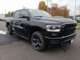 2019 Diamond Black Crystal Pearl Ram 1500 Big Horn Crew Cab 4x4 #130242126