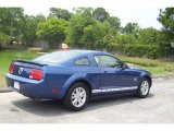 2009 Vista Blue Metallic Ford Mustang V6 Coupe #13015854