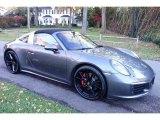 2017 Porsche 911 Agate Grey Metallic