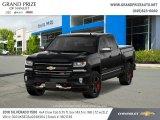 2018 Black Chevrolet Silverado 1500 LTZ Crew Cab 4x4 #130278739