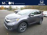 2018 Gunmetal Metallic Honda CR-V EX AWD #130281053
